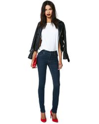 Nasty Gal | Blue Cheap Monday Tight Skinny Jeans Very Stretch One Wash | Lyst