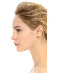 Vanessa Mooney | Metallic Zeppelin Earring Set - Gold | Lyst