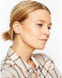 ASOS | Metallic Vine Leaf Ear Cuff | Lyst