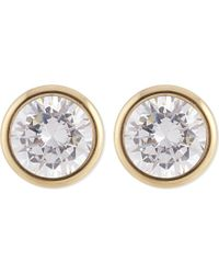 Michael Kors | Metallic Park Avenue Stud Earrings | Lyst
