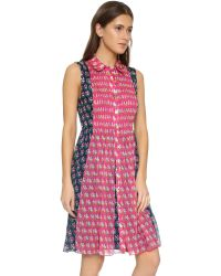Diane von Furstenberg - Blue Nieves Dress - Lyst