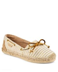 Sperry Top-Sider - Natural Katama Stripe Espadrille - Lyst