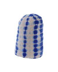 Warm-me - Blue Hat for Men - Lyst