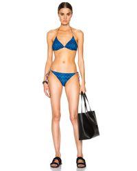 Missoni | Blue String Bikini | Lyst
