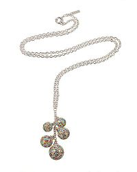 Gemini | Multicolor Hollywood Cluster Balls Necklace | Lyst