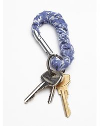 Free People | Blue Womens Bandana Carabiner | Lyst