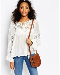 Cambridge Satchel Company - Brown The Leather Saddle Bag In Vintage Tan - Lyst