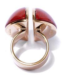 Chloé | Red Ellie Oversized Ring | Lyst