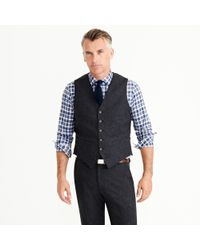 J.Crew - Gray Ludlow Suit Jacket In English Donegal Wool for Men - Lyst