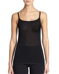 Wolford - Black Knit Camisole - Lyst