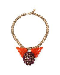 Lulu Frost - Red 50 Year Necklace #2 - Lyst