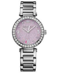 Juicy Couture | Purple Women's Cali Stainless Steel Bracelet Watch 34mm 1901327 | Lyst