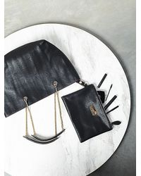 Free People | Black Womens Sylvia Snake Chain Tote | Lyst