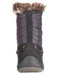 Sperry Top-Sider | Black Women'S Winter Cove Faux-Fur Booties | Lyst