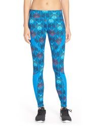Zella | Blue Live In Starscape Leggings | Lyst