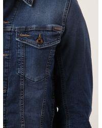 DIESEL - Blue Elshar Jacket for Men - Lyst