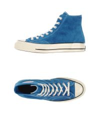 Converse - Blue High-tops & Trainers for Men - Lyst
