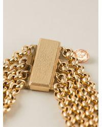 Christian Lacroix | Metallic 'wave' Necklace | Lyst