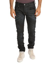 G-Star RAW | Blue 3301 Straight Leg Jeans for Men | Lyst