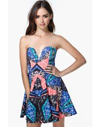 Nasty Gal | Multicolor Stained Glass Dress | Lyst