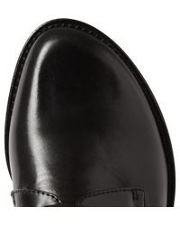 Ann Demeulemeester | Black Leather Derby Shoes for Men | Lyst