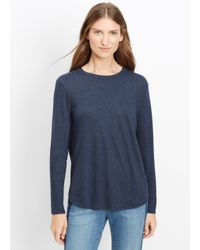 Vince | Blue Long Sleeve Little Boy Tee | Lyst