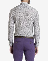 Ted Baker - Natural Printed Floral Shirt for Men - Lyst