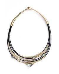Alexis Bittar - Metallic Multistrand Cable Necklace - Lyst