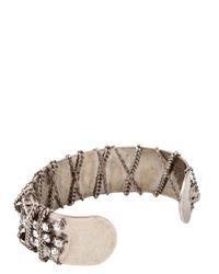 DANNIJO - Metallic Bellona Bracelet - Lyst