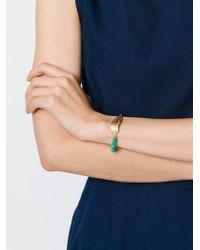 Leivan Kash | Green Beaded Feather Bracelet | Lyst