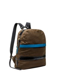 Marni | Brown Backpack In Contrasting-coloured Linen And Wool | Lyst