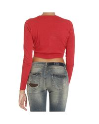Pinko - Red Sweater - Lyst