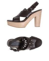 Marni - Brown Sandals - Lyst