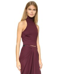 Torn By Ronny Kobo | Purple Theodora Top | Lyst