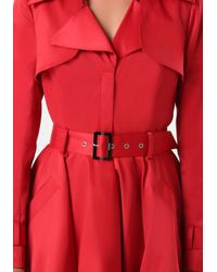 Bebe | Red Mab Trench Coat | Lyst