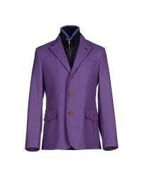 Harmont & Blaine - Purple Blazer for Men - Lyst
