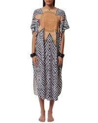 Mara Hoffman | Multicolor Scoop Back Dashiki | Lyst