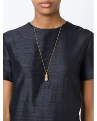 True Rocks | Metallic 'pineapple' Necklace | Lyst