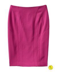 Banana Republic - Pink Factory Seamed Pencil Skirt - Lyst