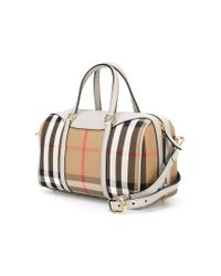 Burberry | Brown 'house Check' Tote | Lyst