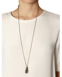 Isabel Marant | Brown Love Buzz Fist Necklace | Lyst