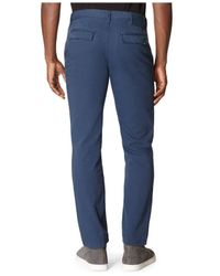 Calvin Klein Jeans | Blue Slim-Straight Pants for Men | Lyst