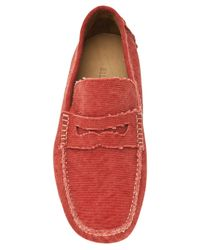 Billy Reid - Red Driving Shoe for Men - Lyst