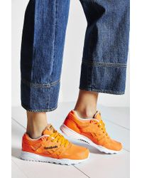 Reebok | Orange Ventilator Neon Running Sneaker | Lyst