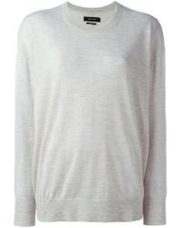 Isabel Marant | Gray 'berwyn' Sweater | Lyst