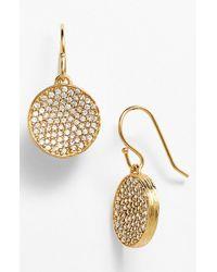 Melinda Maria | Metallic 'kalena' Pod Drop Earrings | Lyst