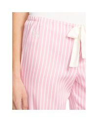 Ralph Lauren - Pink Drawstring Pajama Pant - Lyst