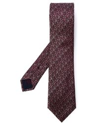 Brioni - Red Woven Tie for Men - Lyst