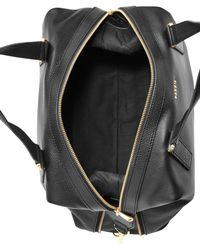 Fossil | Black Preston Leather Satchel | Lyst