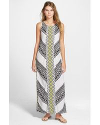 Rip Curl | White 'Gypsy Road' Maxi Dress | Lyst
